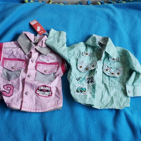 Other - Baby boy shirts ( 1 pair)